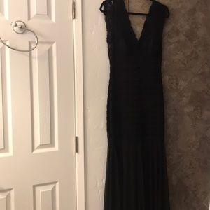 Dresses & Skirts - Black , evening gown . Beautiful v cut